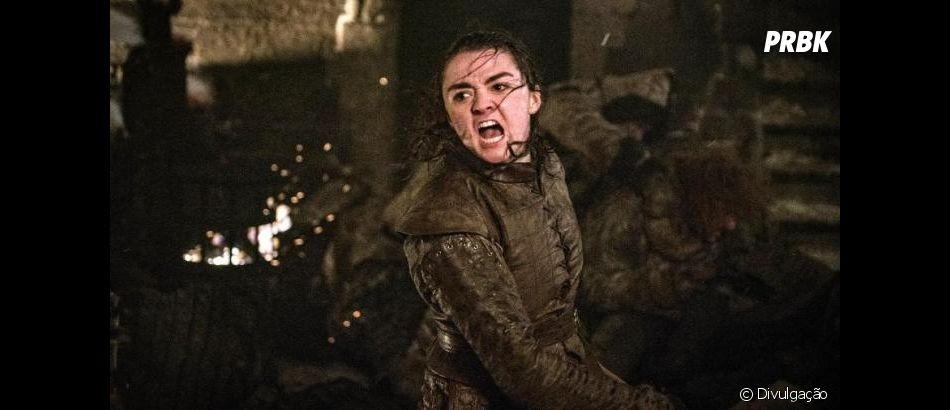 """Spin off das aventuras de Arya, de """"Game of Thrones"""", é uma possibilidade e até o escritor Stephen King aprovou a ideia"""