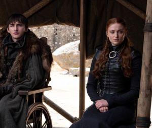 """De """"Game of Thrones"""":Arya (Maisie Williams), Bran (Isaac Hempstead-Wright ) e Sansa (Sophie Turner) foram alguns dos personagens que tiveram finais criticados"""