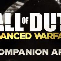 "Jogo ""Call Of Duty: Advanced Warfare"" também vai ter app companion"