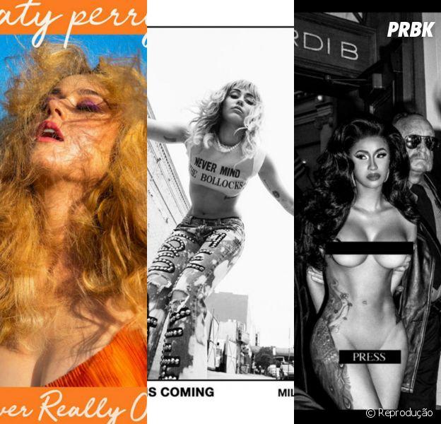Hino ou Bomba: Katy Perry, Miley Cyrus, Cardi B e mais lançamentos são avaliados pelo Purebreak