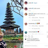 Anitta postou a primeira foto com Pedro Scooby e até o Diplo ficou com vontade de arranjar alguém