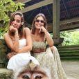 Anitta está aproveitando bastante suas férias na Indonésia