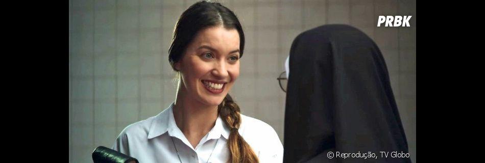 """""""A Dona do Pedaço"""":Fabiana (Nathalia Dill) vai perder a virgindade com Rock (Caio Castro)"""