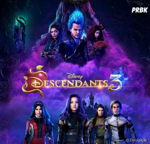 """""""Descendentes 3"""": tudo sobre o terceiro filme da sequência está aqui"""