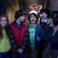"""E o elenco de """"Stranger Things"""" que se reuniu para assustar alguns fãs da série?"""
