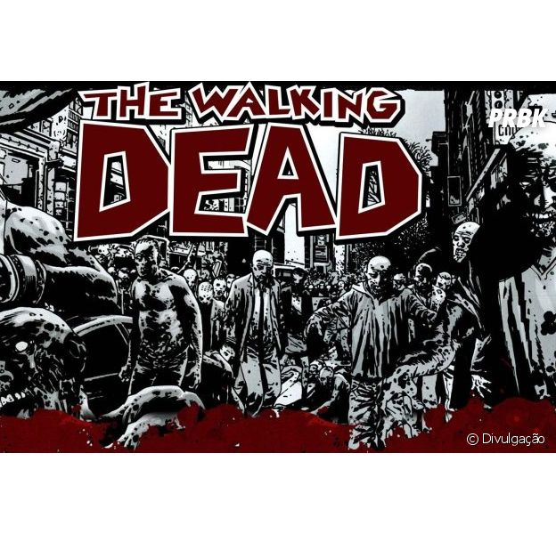 """The Walking Dead"" terá quadrinhos finalizados"