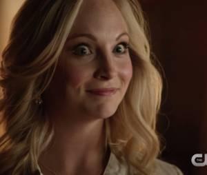 """Em """"The Vampire Diaries"""", Caroline (Candice King) quase foi mordida por um cavalo nos sets!"""