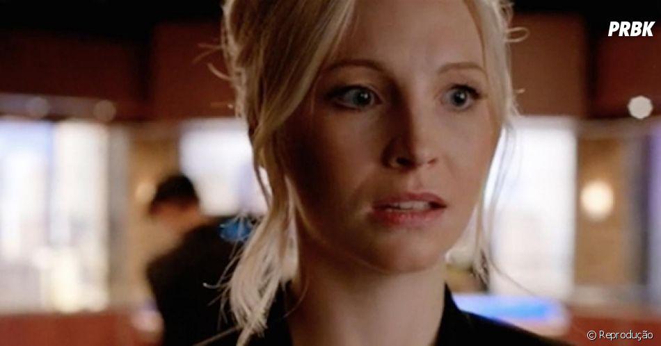 """Em """"The Vampire Diaries"""", Candice King sofreu as consequências em uma cena com cavalo"""