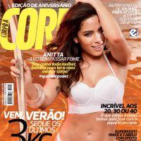 Anitta arrasa de biquini em ensaio sensual para revista