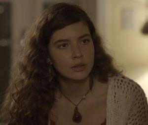 """Malhação"": Rita (Alanis Guillen) verá Rui (Rômulo Arantes Neto) durante o Rock in Rio"