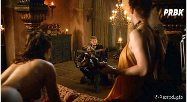 Joffrey e seus fetiches sádicos