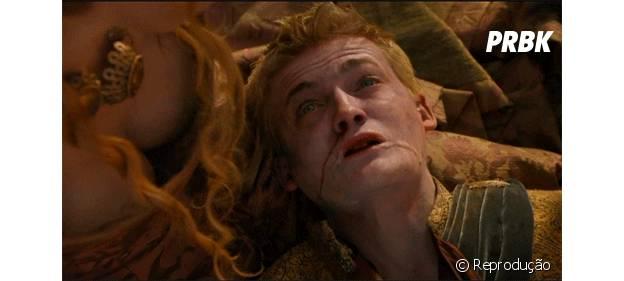 Joffrey agonizando é uma das cenas mais bizarras de GoT