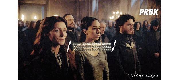 """Momentos de tensão no """"Red Wedding"""" de Game of Thrones"""