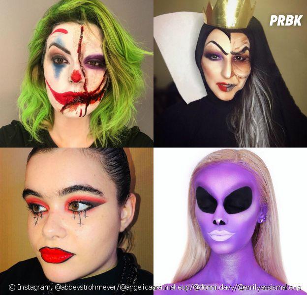 Estas 30 maquiagens de Halloween são a melhor inspiração para você fazer a sua