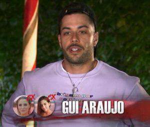 """""""De Férias com o Ex Brasil: Celebs"""": Gui Araújo tinha pedido para Catherine esperar por ele"""