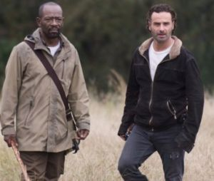 """The Walking Dead"": Lennie James não sabe se Morgan e Rick (Andrew Lincoln) se encontrarão nos filmes da franquia"