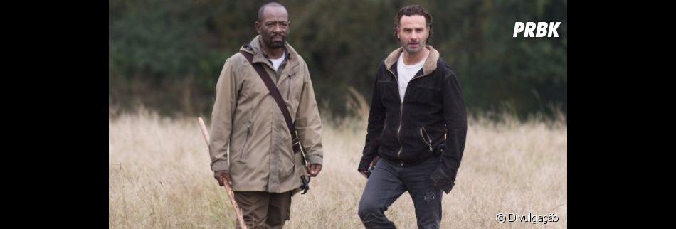 """""""The Walking Dead"""":Lennie James não sabe se Morgan e Rick (Andrew Lincoln) se encontrarão nos filmes da franquia"""