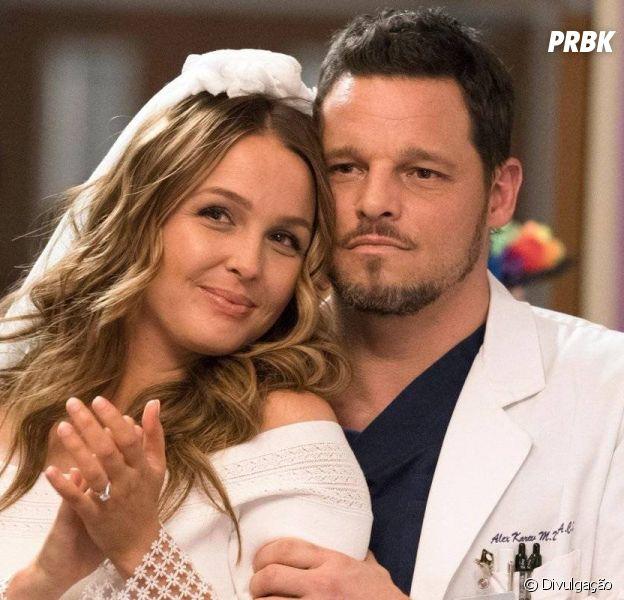 """""""Grey's Anatomy"""":Alex (Justin Chambers)e Jo (Camilla Luddington) podem adotar uma criança"""