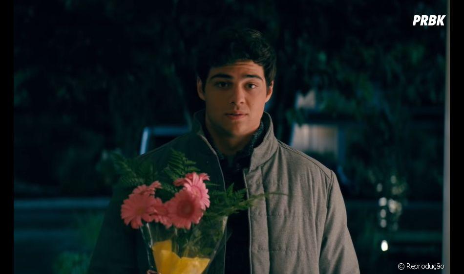 """""""Para Todos os Garotos: P.S. Ainda Amo Você"""": Peter Kavinsky (Noah Centineo) eLara Jean (Lana Condor) estão namorando"""