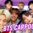 "Veja a participação do BTS no ""Carpool Karaoke"", do James Corden"