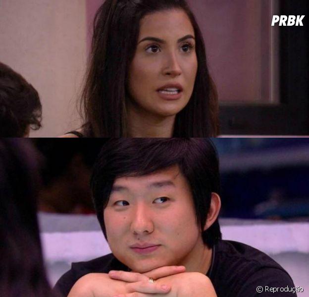 """""""BBB20"""": Bianca Andrade diz que Pyong precisa ser eliminado agora"""