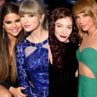 Selena Gomez ou Lorde? Qual a melhor amiga ideal para Taylor Swift? #Duelo