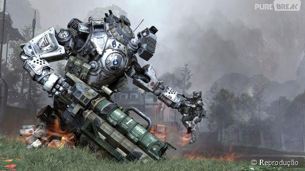 """Game """"Titanfall"""" recebe atualização para Xbox 360 e recebe modo Co-op"""