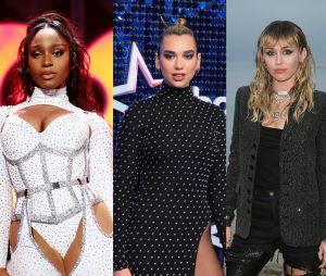 Dua Lipa fala sobre as parcerias com Normani e Miley Cyrus