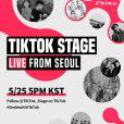 """""""TikTok Stage Live From Seoul"""": veja quais são os grupos que irão performar no dia 25 de maio"""