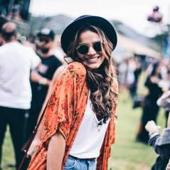 Bruna Marquezine dança muito em festival de música alternativa no Rio de Janeiro!
