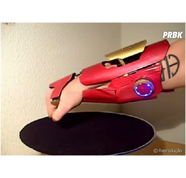 Já pensou em ter o canhão de laser do Homem de Ferro na vida real?
