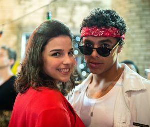 """Em """"Malhação"""", Tato (Matheus Abreu) e Keyla (Gabriela Medvedovski) terminaram juntos"""