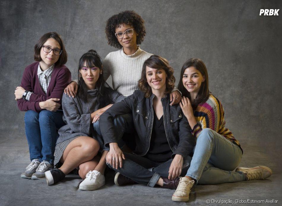 """""""As Five"""": spin-off de """"Malhação - Viva a Diferença"""" ganha making of com quatro episódios"""