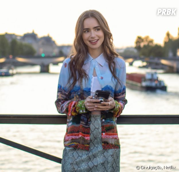 """""""Emily em Paris"""" é a nova série de comédia romântica da Netflix"""