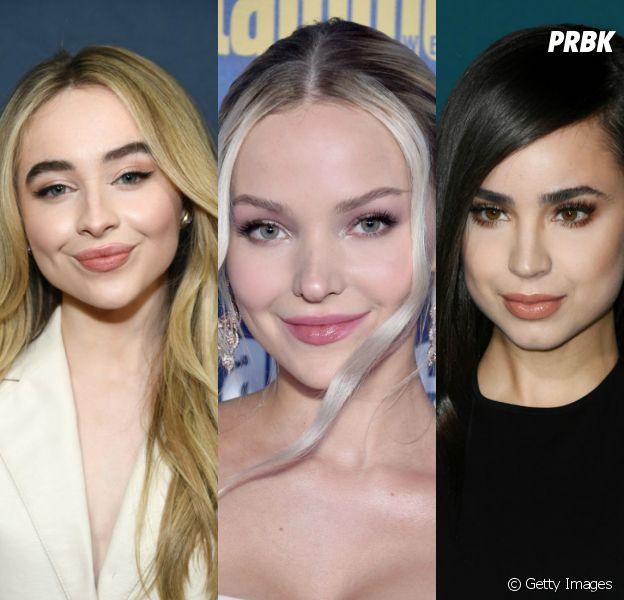 Sabrina Carpenter, Dove Cameron ou Sofia Carson: com qual das três você mais se parece?