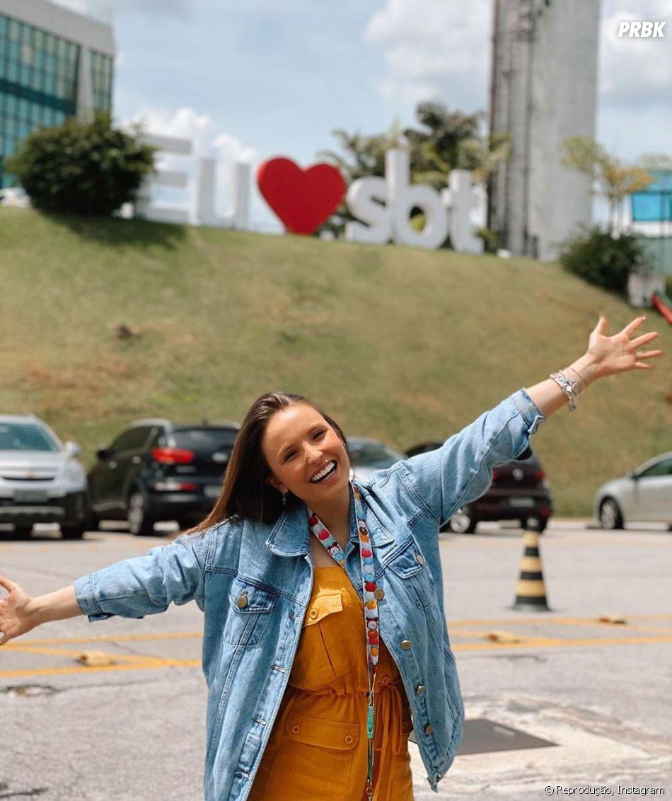 Larissa Manoela deixou o SBT para ir pra Globo