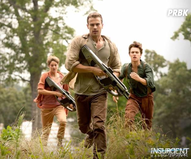 """""""Insurgente"""" ainda conta com Shailene Woodley, Theo James e Ensol Elgort no elenco"""
