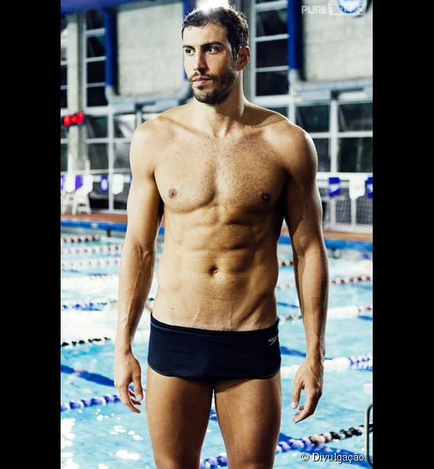 O atleta Guilherme Guido é a atual promessa do Brasil na natação