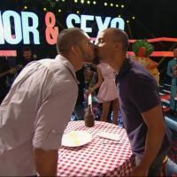 """""""Amor & Sexo"""" teve direito a beijo gay e encontro de Fernanda Lima com Rodrigo Hilbert!"""