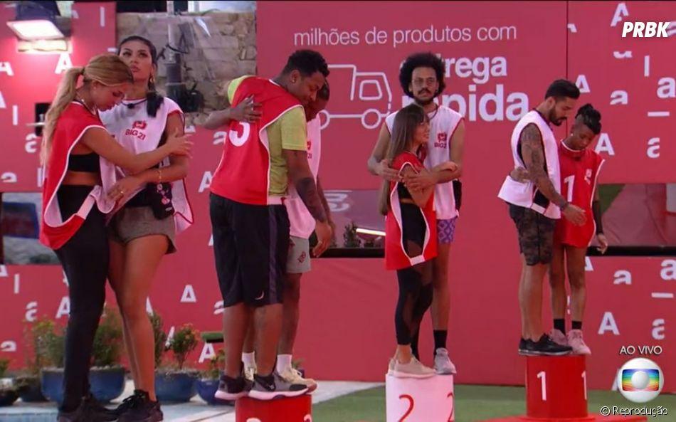 """""""BBB21"""": reality show começou com prova de resistência por imunidade"""
