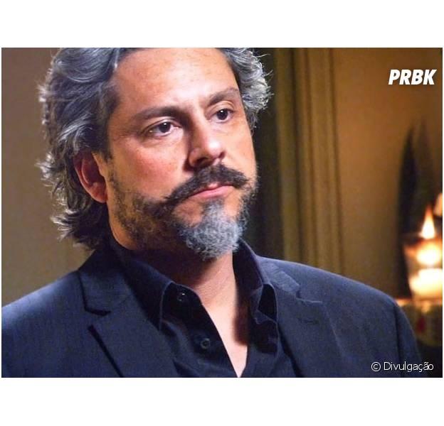 """Parece que Zé Alfredo (Alexandre Nero) está planejando uma volta e tanto na novela """"Império"""""""