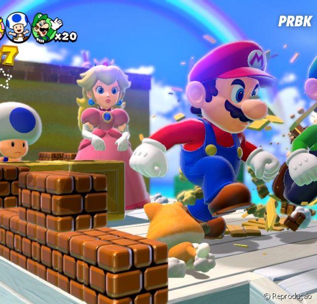 """É oficial que mais um """"Super Mario World 3D"""" está sendo produzido."""