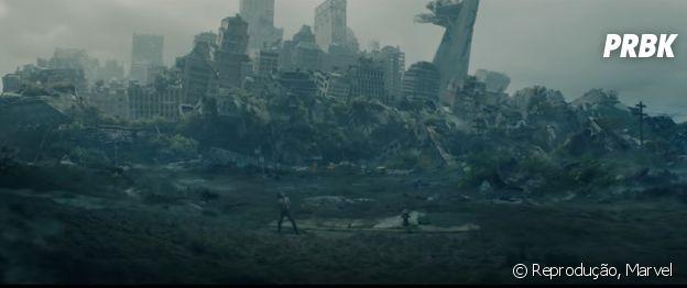"""Nova York destruída é um dos cenários do novo trailer de """"Loki"""""""