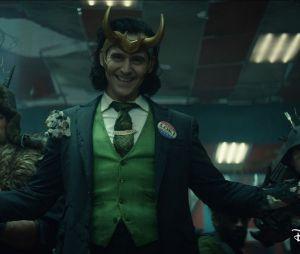 """Cena da série """"Loki"""" pode ter conexão com série de quadrinhos """"Vote Loki"""", lançada em 2016"""