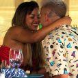 """""""De Férias Com o Ex Celebs"""": rolou um remember entre Gabily e Caique"""
