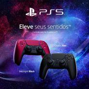 Novos controles DualSense PS5 estão em pré-venda na Amazon!