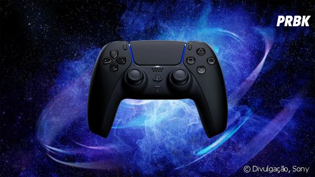 O Controle DualSense Midnight Black, do PlayStation 5, já está disponível para pré-venda na Amazon