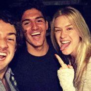 Gabriel Medina ganha torcida de Alexandre Pato e Fiorella Mattheis no Havaí