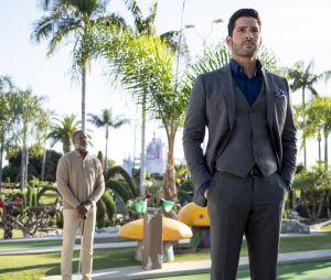 """""""Lucifer"""": novos episódios mostrarão a relação de Deus (Dennis Haysbert) com Lucifer (Tom Ellis)"""