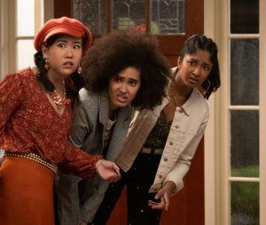 """""""Eu Nunca"""": como ficará a amizade de Devi (Maitreyi Ramakrishnan), Eleanor (Ramona Young) e Fabiola (Lee Rodriguez) após os desentendimentos da 1ª temporada?"""